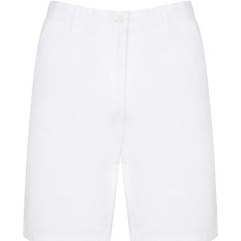 textil Herr Shorts / Bermudas Front Row FR605 Vit