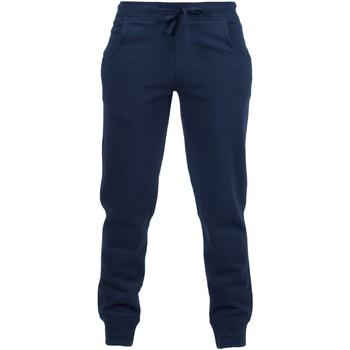 textil Barn Joggingbyxor Skinni Fit SM425 Marinblått