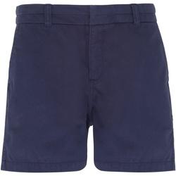 textil Dam Shorts / Bermudas Asquith & Fox AQ061 Marinblått