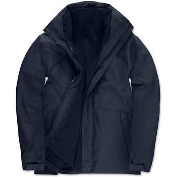 textil Herr Parkas B And C Corporate Marinblått