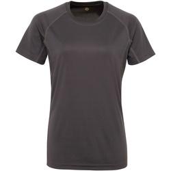 textil Dam T-shirts Tridri Panelled Kol