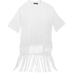 textil Dam Koftor / Cardigans / Västar Brave Soul Kimono Vit
