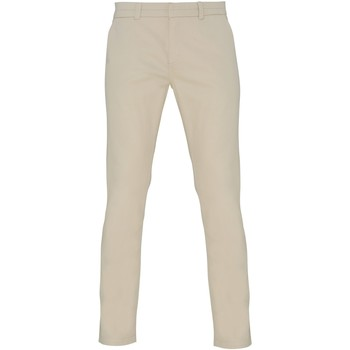 textil Dam Chinos / Carrot jeans Asquith & Fox Chino Naturligt