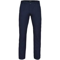 textil Herr Chinos / Carrot jeans Asquith & Fox AQ052 Marinblått
