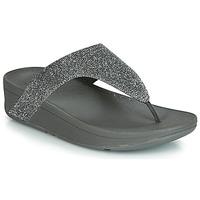 Skor Dam Flip-flops FitFlop LOTTIE GLITZY Silver
