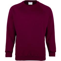 textil Barn Sweatshirts Maddins MD01B Bourgogne