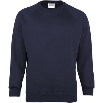 textil Barn Sweatshirts Maddins MD01B Marinblått
