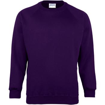 textil Barn Sweatshirts Maddins MD01B Lila
