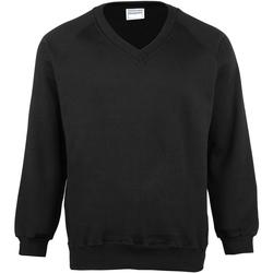 textil Barn Sweatshirts Maddins MD02B Svart