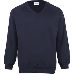 textil Barn Sweatshirts Maddins MD02B Marinblått