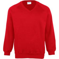textil Barn Sweatshirts Maddins MD02B Röd