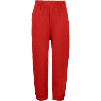 textil Barn Joggingbyxor Maddins MD03B Röd