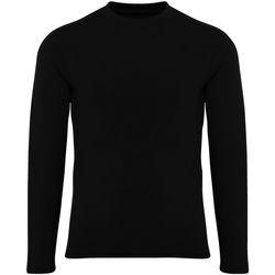 textil Pojkar Långärmade T-shirts Tridri TR16B Svart