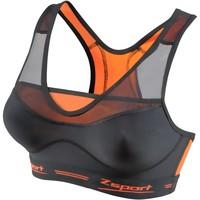 Underkläder Dam Bh Zsport Brassière  virtuosity noir/orange
