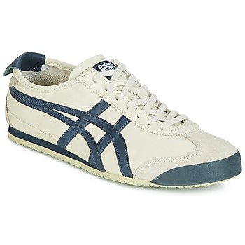 Skor Herr Sneakers Onitsuka Tiger MEXICO 66 LEATHER Beige / Blå