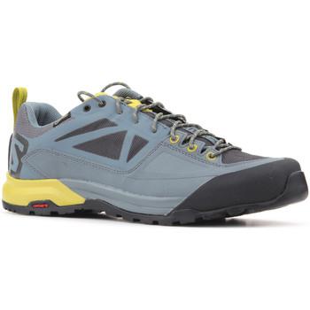 Skor Herr Sneakers Salomon Trekking shoes  X Alp SPRY GTX 401621 grey, yellow