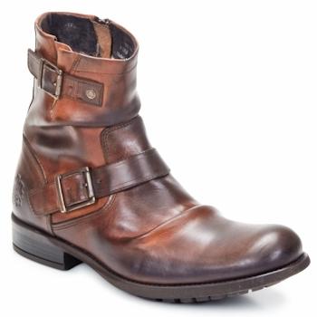 Skor Herr Boots Base London METAL Tan (mellanbrun)