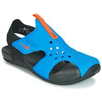 Skor Pojkar Sandaler Nike SUNRAY PROTECT 2 PS Svart / Blå