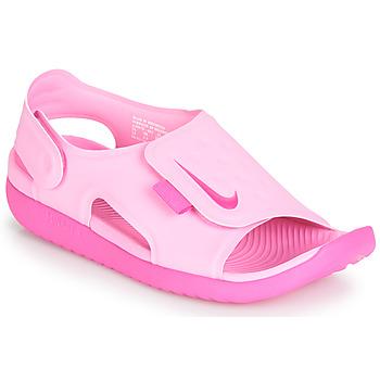 Skor Flickor Sandaler Nike SUNRAY ADJUST 5 Rosa