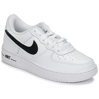 Skor Barn Sneakers Nike AIR FORCE 1-3 PS Vit / Svart