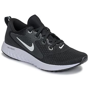 Skor Dam Löparskor Nike REBEL REACT Svart / Vit