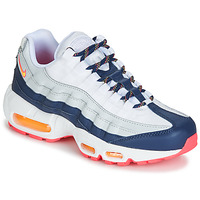 Skor Dam Sneakers Nike AIR MAX 95 W Vit / Blå / Orange
