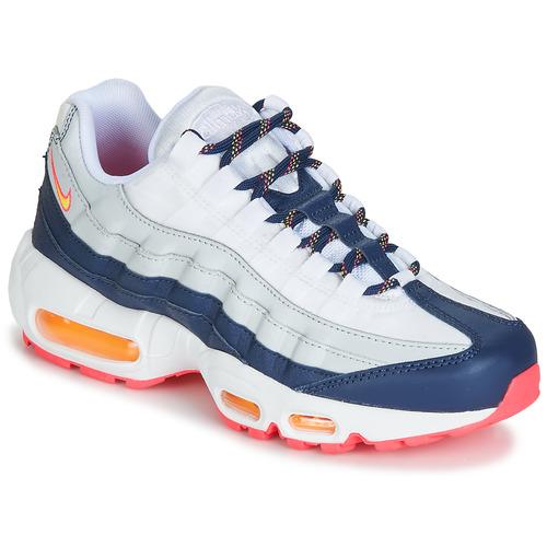 sneakers for cheap 840cd 79654 Skor Dam Sneakers Nike AIR MAX 95 W Vit   Blå   Orange
