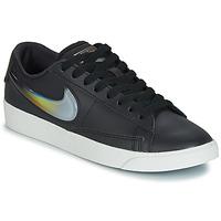 Skor Dam Sneakers Nike BLAZER LOW LX W Svart / Silverfärgad